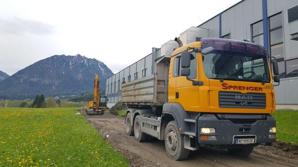 Firma Sprenger Fuhrpark RE 915CE 3Achser