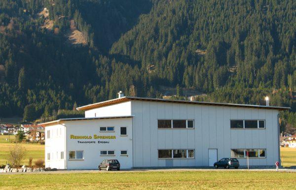 Firma Sprenger Firmengebäude