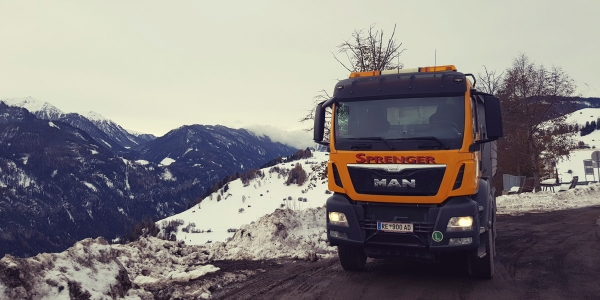 Firma Sprenger LKW 4Achser