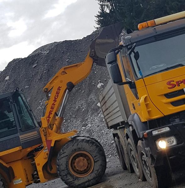 Firma Sprenger LKW 4Achser Iveco