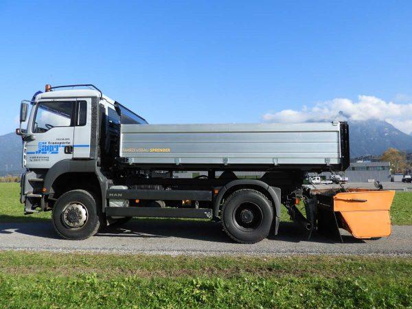 Metalltechnik Anhängerbau 3Seiten Kipper