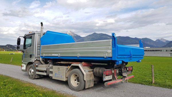 Metalltechnik Anhängerbau Absetzkipper