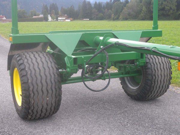 Metalltechnik Anhängerbau Rungenanhänger