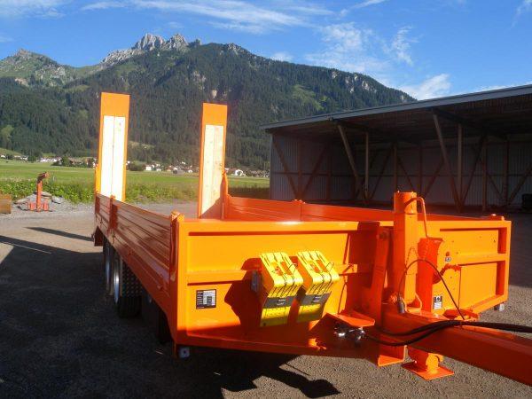 Metalltechnik Anhängerbau Tieflader