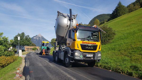 Sprenger Reinhold Transporte u Erdbau GmbH