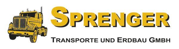 Firma Sprenger Transporte und Erdbau Logo