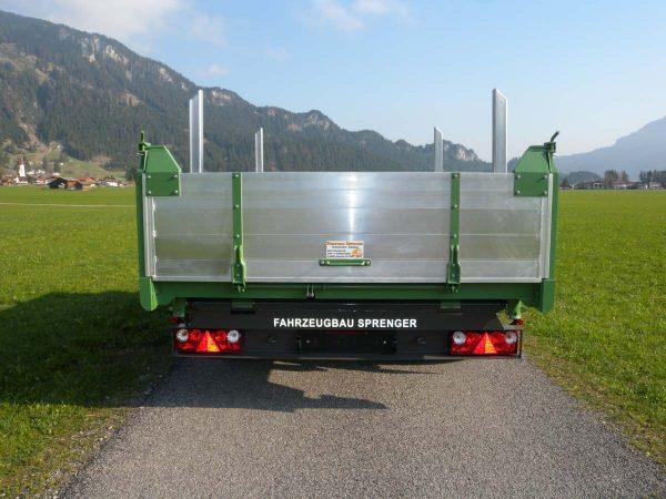 Firma Sprenger Metalltechnik 10t Tandem kipper