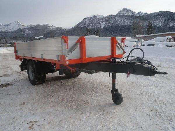 Firma Sprenger Metalltechnik 10to 1-Achs Kipper