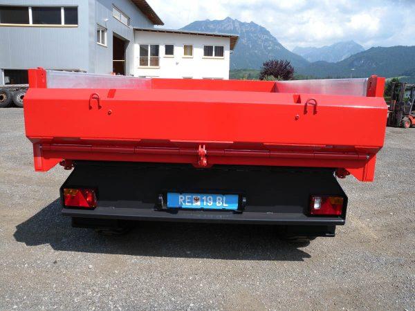 Firma Sprenger Metalltechnik 10to Tandem Kipper