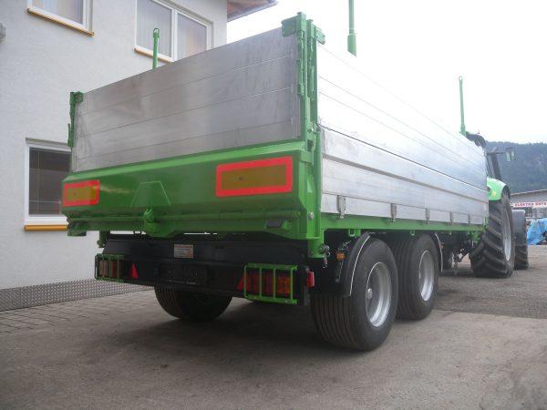 Firma Sprenger Metalltechnik 12to Tandem Kipper