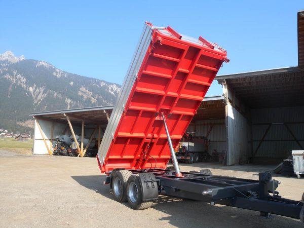 Firma Sprenger Metalltechnik 16to Tandem Kipper