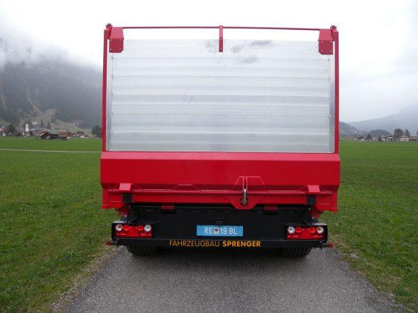 Firma Sprenger Metalltechnik 20to Tandem Kipper