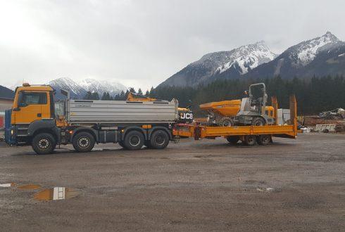 Firma Sprenger Transport Leistungen
