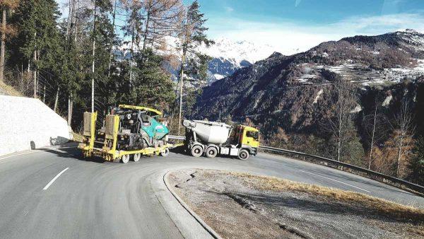 Firma Sprenger Transport Leistungen Titelbild